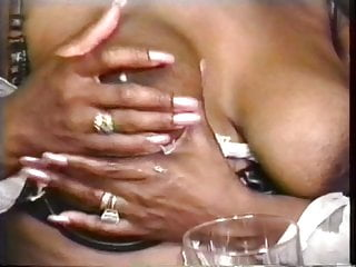 Preview 2 of Gorgeous big tit lactating lesbians squeeze out lots of milk from their nips