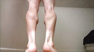 Dean Ironrod Leg and Calf Muscle Fetish