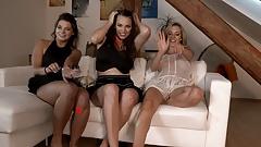Tiniest Panties Ever: Pearl Thongs Upskirts Never Fail. 4K