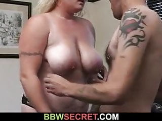 Cheating sex with eager plumper