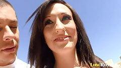 Enjoying a sunny banging session with Skyla Shy