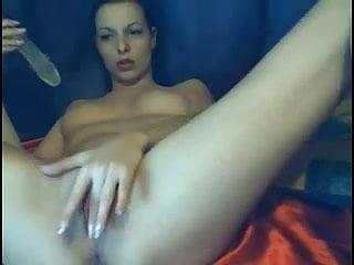 FULL DILDO INSIDE HER PUSSY