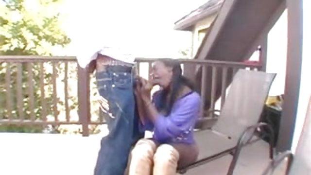 Neighbor Catches Mom Daughter