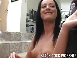 Watch me taking both these big black cocks