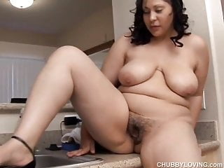 Busty BBW beauty wishes you were fucking her fat juicy pussy