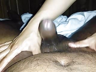 Preview 6 of Thai want to touch Indian cock massage (with cum) Part 1