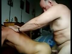 Daddy cum inside twink