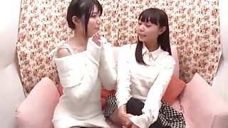 sweet japanese girl first time lesbian