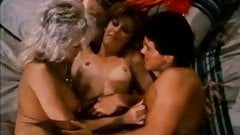Amber Lynn, Nina Hartley, Buck Adams in vintage fuck movie