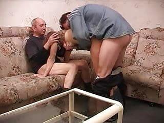 older guy and dude enjoy dude's girlfriend