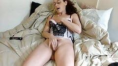 Lingerie masturbation