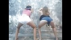 Horny teens dancing # 09