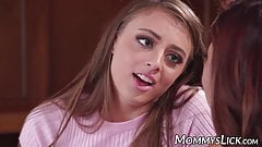Reena Sky strapon banged by stepdaughter after face sitting