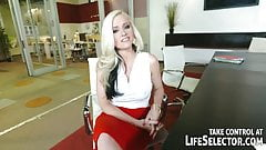 Successful broker fucks hot babes