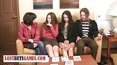 Playing strip cards