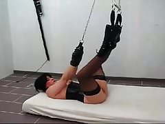 german amateur milf chained and fucked
