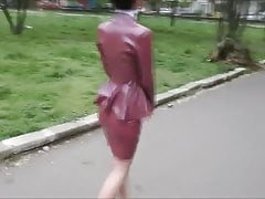 Classy Latex Business Outfit