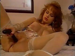 British slut Sarah Jane Hamilton plays with herself