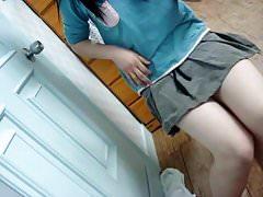 chinese teen selfie