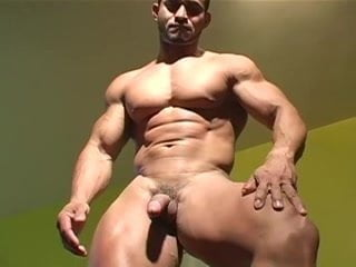 Sexy Naked Man Bodybuilding HD