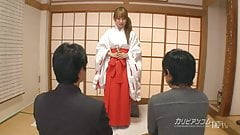 Japanese Temple Nun Threesome Yui Misaki