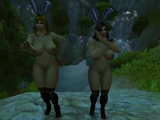 Preview 5 of Warcraft Busty Human Bunnies