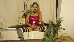 Cyber Slut Harley Quinn Sissy Bimbo Brandynette