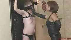 Ella Kross:Slapping My Slave's Face!
