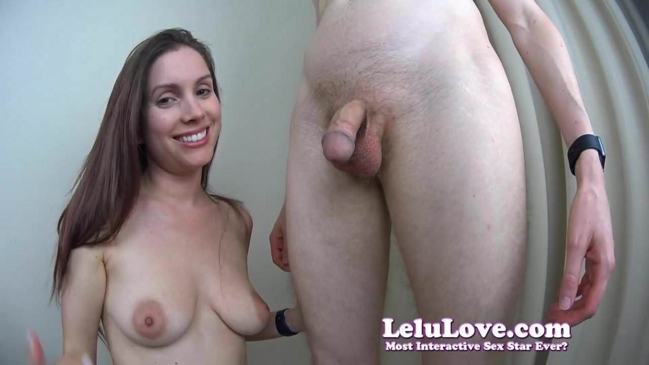 Lelu Love Gloryhole Blowjob Cumshot In Your Face