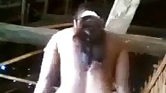 Desi Village girl recording her undressing and showing pussy