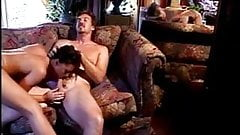Nude bitch sucking on dick