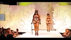 BBW sexy fashion show (no nude)
