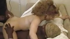 Mature blonde in BBC