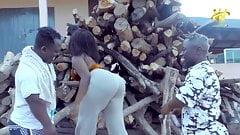 Big Booty African Lady