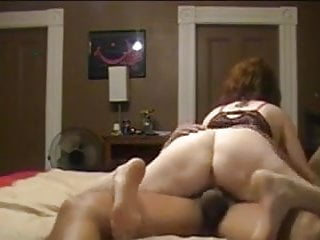 Horny wife fucks her Black lover at home