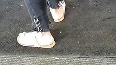 Candid puerto rican feet