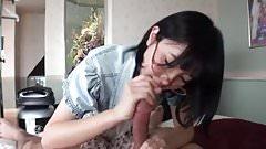 Cute Japanese Handjob