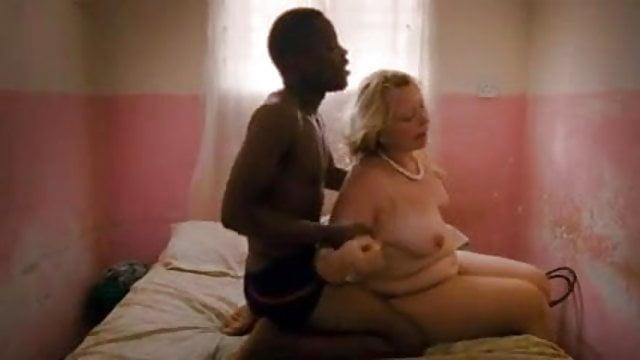 Jamajský BBW pornopríťažlivé čierne Mama mačička