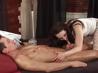 gently massage turn into anal massage for him