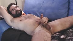 Logan strokes and cums for you