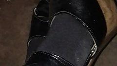 high heels black nylons