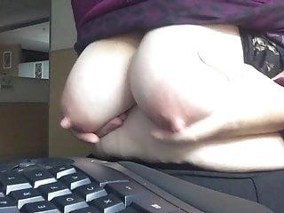 Nipples Hard At Work