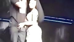Nicki Minaj Touches Meek Mill's Dick On Stage porn image