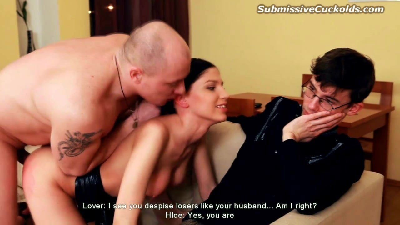 Wife Fucking Front Husband