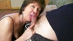 Horny Blowjob With Sexy Granny