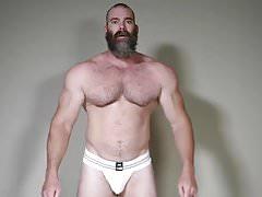 Muscle Daddy Rick Flex Jerk Off & Cum