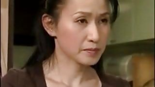 Horny Japanese housewife fucked the furniture