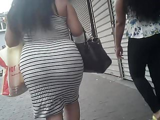 BBW Candid Phat Booty in Skirt Pt. 3