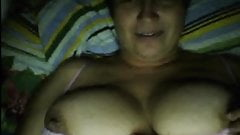 Russian mature mother flashing tits