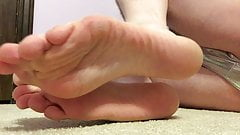 Master GHZ - Sissy Cassie - Sole Feet Close Up